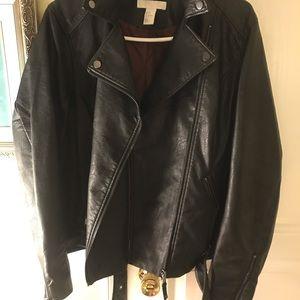 H&M leather jacket
